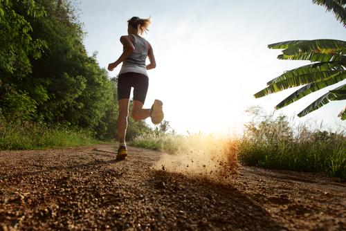 tropical track run