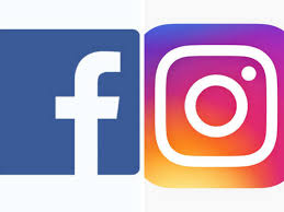facebook instagram logos